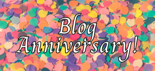 Blog Anniversary!